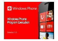 Windows Phone Program_Execution - Marek Piasecki