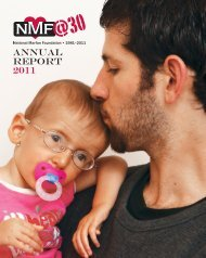ANNUAL REPORT 2011 - National Marfan Foundation