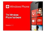 1.1 Windows Phone Hardware - Marek Piasecki