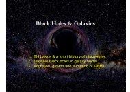 Black holes - Herbstschule Maria Laach