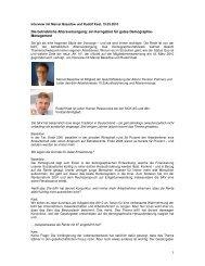 Das Interview als pdf zum Download. - Das Demographie Netzwerk