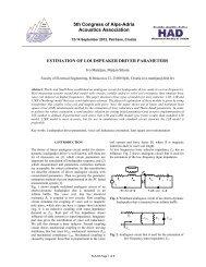 5th Congress of Alps-Adria Acoustics Association