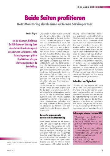 Beide Seiten profitieren - Ortgies Marketing & Communications