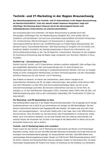 Technik- und IT-Marketing in der Region Braunschweig - Ortgies ...