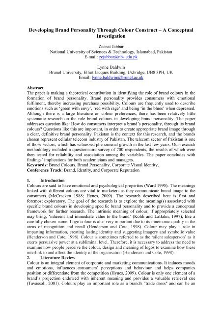 research paper on ufone