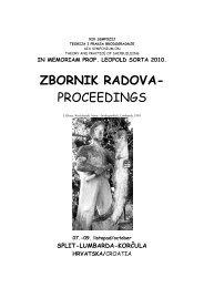 ZBORNIK RADOVA- PROCEEDINGS - Početna