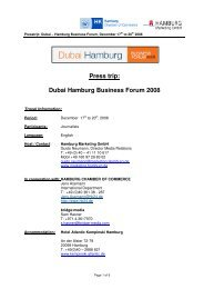 Presstrip_Hamburg_Businessforum Dubai - Hamburg_171208 1 - Hamburg ...