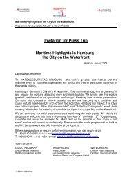 Maritime Highlights in Hamburg_ May 2008 - Hamburg Marketing ...