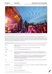 DOCKVILLE – FESTIVAL FOR MUSIC & ART | ELBINSEL ...