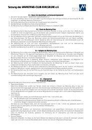 Die Satzung des Marketing-Club Karlsruhe (PDF)