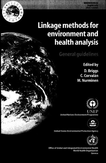 Linkage Methods for Environment and Health Analysis. General ...