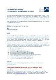 Das Programm (PDF) - Marketing - Club Karlsruhe