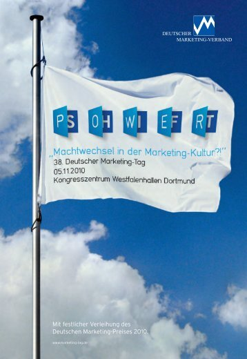 Programm Deutscher Marketing-Tag 2010 - Marketing - Club ...