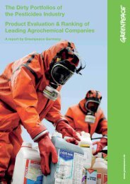 The Dirty Portfolios of the Pesticides Industry Product ... - Marktcheck.at