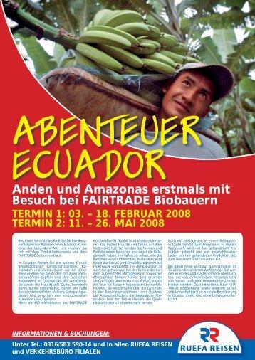 Anden und Amazonas erstmals mit Besuch bei ... - Marktcheck.at