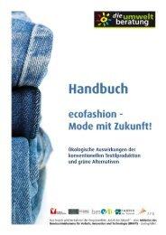 Handbuch ecofashion – Mode mit Zukunft - Marktcheck.at