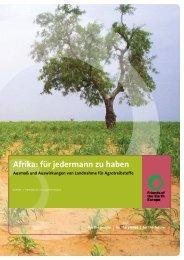 Afrika – für jedermann zu haben: Ausmaß und ... - BUND