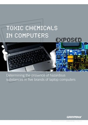 toxic chemicals in computers exposed - What, why and who are the ...