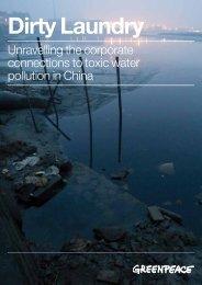 Dirty Laundry Report (PDF) - Greenpeace