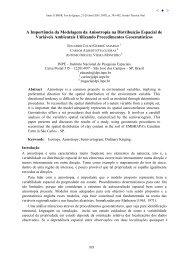 A Importância da Modelagem da Anisotropia na Distribuição ... - Inpe