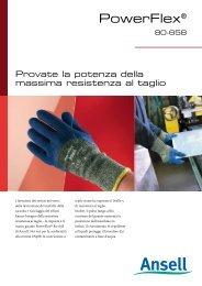 Sacchetto di 6 Paia Ansell Polar Grip 23-700 Guanto per Usi Speciali Taglia 10 Protezione Meccanica Arancione