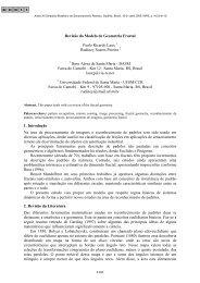 Revisão do modelo de geometria fractal Laux, P. R. - marte:80 - Inpe