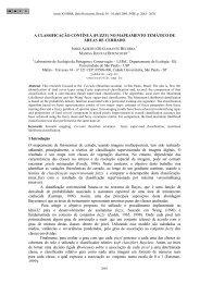 A CLASSIFICAÇÃO CONTÍNUA (FUZZY) NO MAPEAMENTO ...