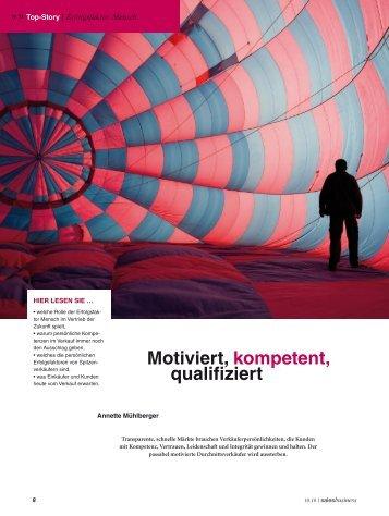 Motiviert, kompetent, qualifiziert - Martin Limbeck