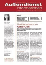 Vertriebsteam im Umbruch - Martin Limbeck