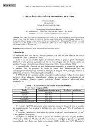 AVALIAÇÃO DA PRECISÃO DE ORTO-IMAGENS IKONOS