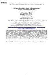 Satélite CBERS-2 na determinação de teores de ... - marte:80 - Inpe