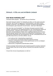 Das neue Hardselling - Martin Limbeck