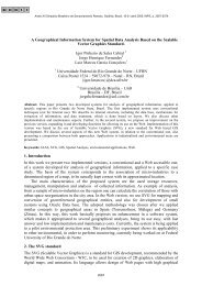 A Geographical Information System for Spatial Data Analysis ... - Inpe