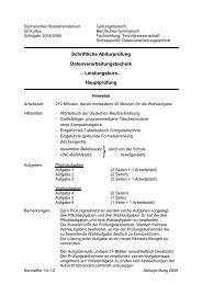 Datenverarbeitungstechnik - Leistungskurs