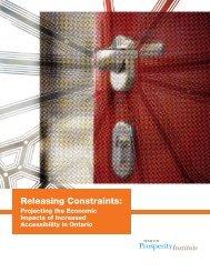 Releasing Constraints: - Martin Prosperity Institute