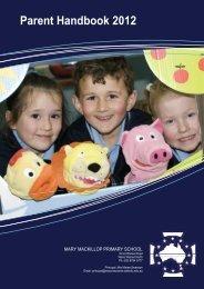 Parent Handbook 2012 - Mary Mackillop Primary School
