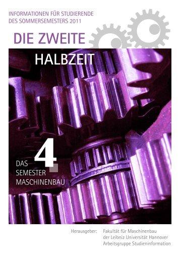 Semesterheft 4 - Fachschaft Maschinenbau der Leibniz Universität ...