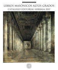 Libros Masónicos Altos Grados - Editorial Herbasa