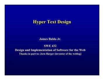 Hyper Text Design