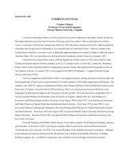 CV in PDF - George Mason University