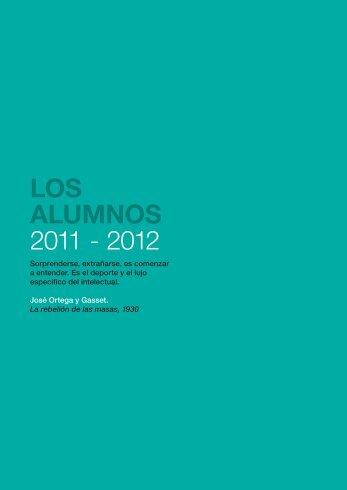 LOS ALUMNOS 2011 - 2012 - Master en Comunicación Política