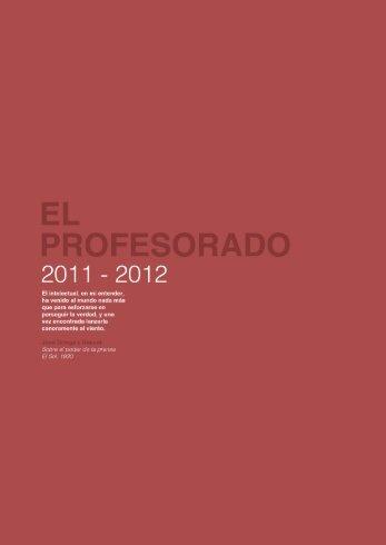 Profesores - Master en Comunicación Política