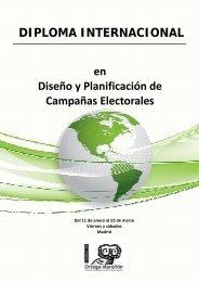DIPLOMA INTERNACIONAL en Diseño y Planificación de ...