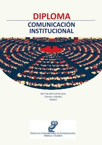 DIPLOMA - Master en Comunicación Política