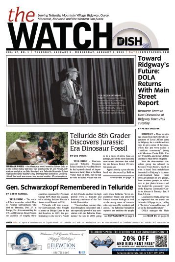 The Watch - January 03, 2013 - Amazon Web Services