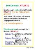 Schulnetz und EAGLE OH-Folien... - HTL Wien 10 - Seite 2