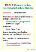 Schulnetz und EAGLE OH-Folien... - HTL Wien 10 - Seite 4