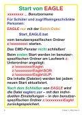 Schulnetz und EAGLE OH-Folien... - HTL Wien 10 - Seite 5