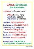 Schulnetz und EAGLE OH-Folien... - HTL Wien 10 - Seite 7