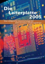 Die Leiterplatte 2005 - HTL Wien 10